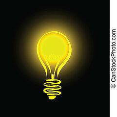 lightbulb, pendre