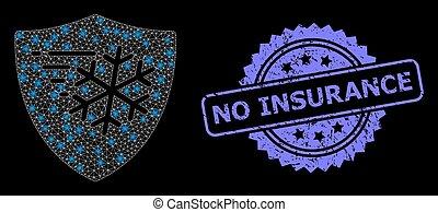 lightspots, assurance, cachet, textured, réseau, non, toile, gelée, protection, clair, timbre