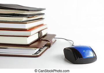 ligne, concept, business, education