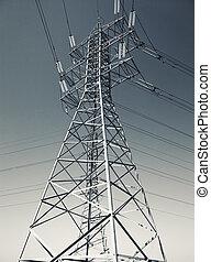 ligne, pouvoir électrique