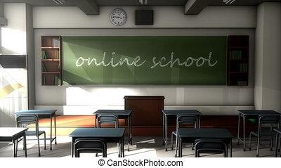 """ligne, texte, """"classroom, school."""", planche, noir"""