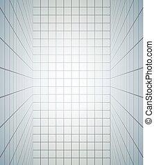 lignes, salle, vertical, gentil