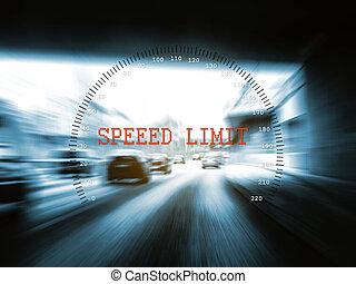 limite vitesse