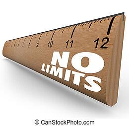 limites, non, règle, illimité, potentiel, mots