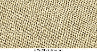 lin, burlap, ou, texture, tissu