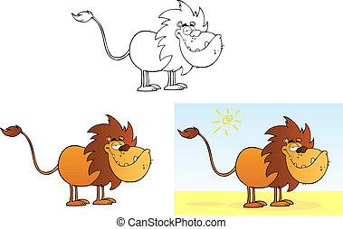lion., rigolote, collection