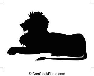 lion, symbole, puissance