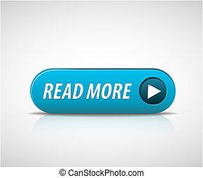 lire, grand, bouton, plus