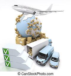liste contrôle, transport
