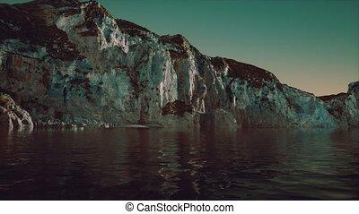 littoral, pierre, portugal, falaise