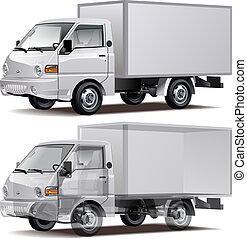 livraison, camion cargaison, /