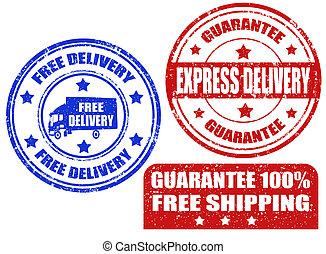 livraison, timbres, gratuite
