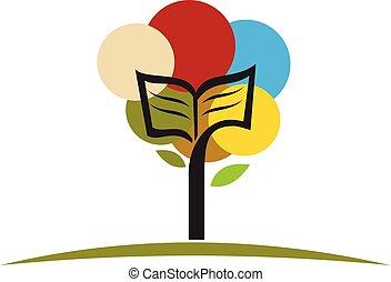 livre, arbre
