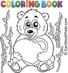 livre coloration, valentin