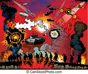 livre comique, explosion