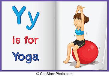 livre image, yoga