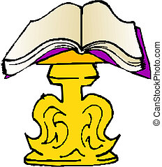 livre, ouvert