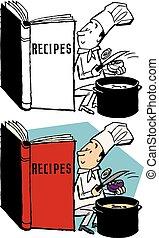 livre, recette