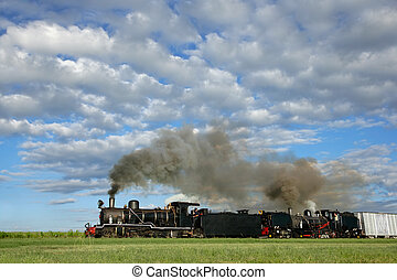 locomotives, vapeur