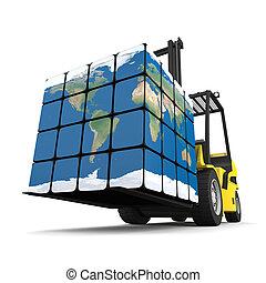 logistique, global