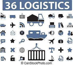 logistique, signes