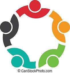 logo, équipe, congrès, 5
