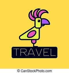 logo, agence voyage