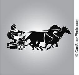 logo, char