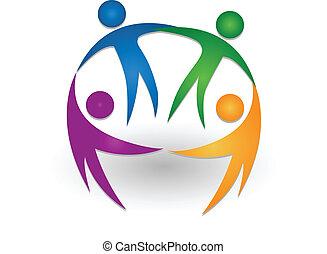 logo, collaboration, ensemble, gens