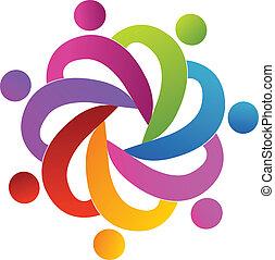logo, collaboration, gens, portion