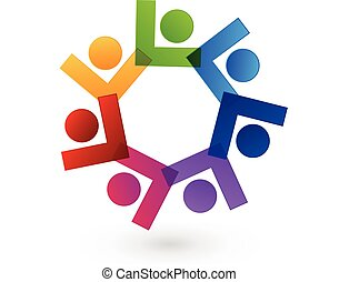 logo, collaboration, gens, union