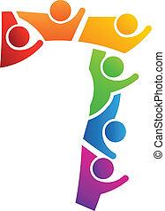 logo, collaboration, numéro 7