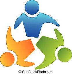 logo, collaboration, partenaires