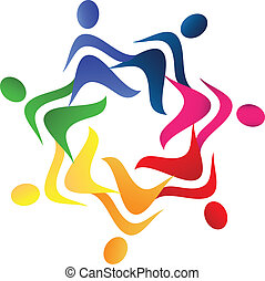 logo, collaboration, portion