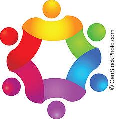 logo, couleurs, concept, collaboration, 6
