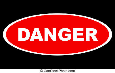 logo, danger