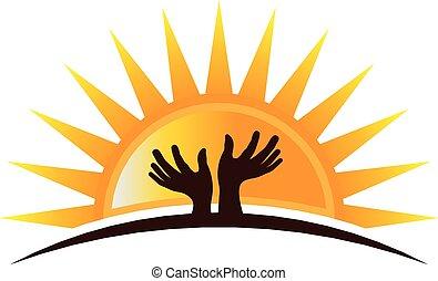 logo, hopefulyl, mains