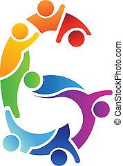 logo, image, collaboration, numéro 6