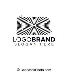 logo, kansas, gabarit, balayage