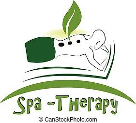 logo, masage, spa