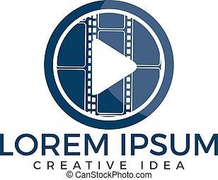 logo, musique, design.