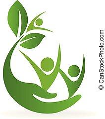 logo, nature, services médicaux