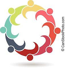 logo, réunion, réunion, business, 8