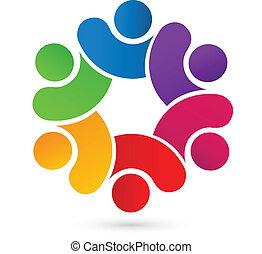 logo, uni, collaboration, gens