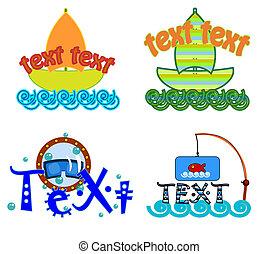 logo, vecteur, symbole