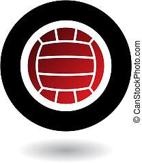 logo, volley-ball