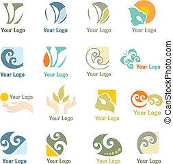 logos, compagnie, conception