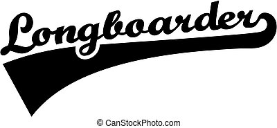 longboarder, police, retro