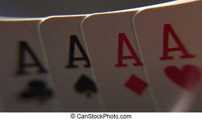 longueur courante, poker, -