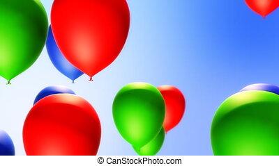 (loop), backround, ballons